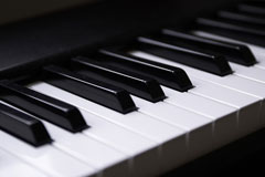 musical keyboard - piano keyboard